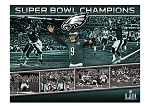 Eagles SB 52 Champs Moments Mural (Wall Stickers)